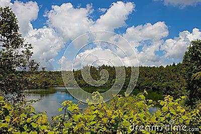 Grand bassin lake