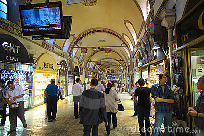 Grand Bazaar Editorial Stock Photo