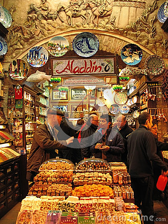 Grand bazaar Editorial Stock Image
