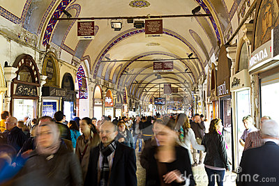Grand Bazaar, Istanbul Editorial Photo