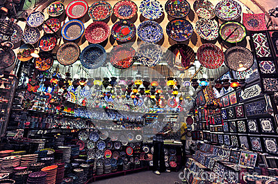 Grand Bazaar Istanbul Editorial Photo