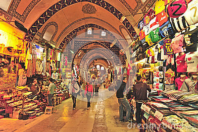 Grand Bazaar Istanbul Editorial Stock Photo