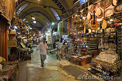Grand Bazaar - Istanbul - Turkey Editorial Stock Image