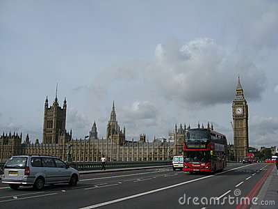 Grand Ben et Parlement Londres Image stock éditorial