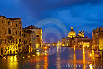 Grand canal at evening