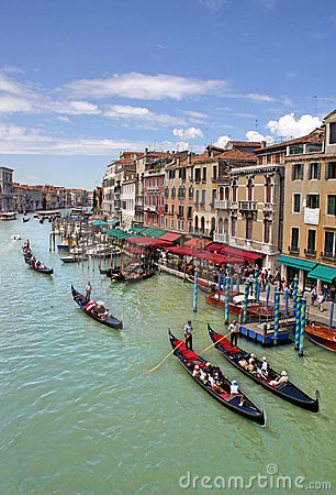 Free Grand Canal In Venice Stock Photos - 682853