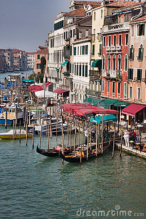 Grand Canal in Venice Editorial Stock Photo