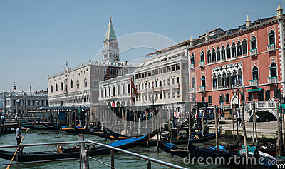 Grand Canal Venice Editorial Stock Image