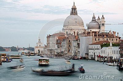 Grand Canal, Venice Editorial Stock Photo