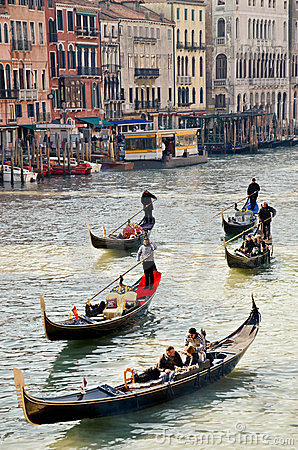 Grand canal venice, Italy Editorial Stock Image
