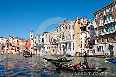 Grand Canal, Venice - Italy Editorial Image