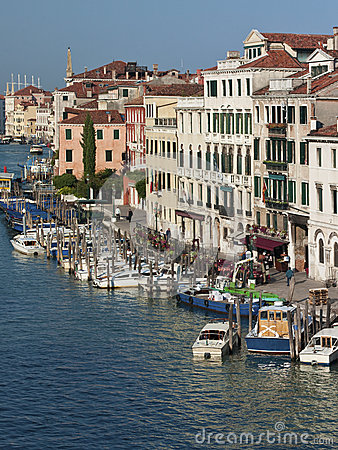 Grand Canal - Venice - Italy Editorial Image
