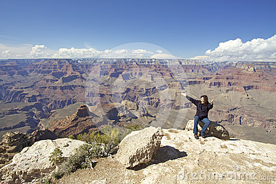 Grand Canyon Amazement and Freedom