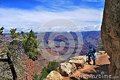 Grand Canyon Hiker