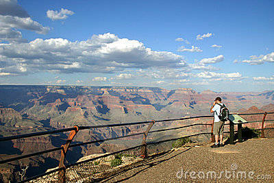 Grand Canyon - Lone Hiker