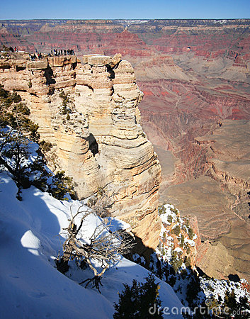 The Grand Canyon from Mather Point