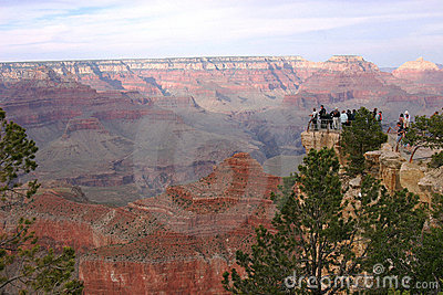 The Grand Canyon National Park AZ.