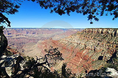 Grand canyon national park landscape, arizona, usa