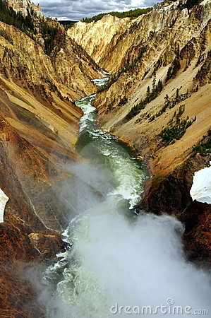 Free Grand Canyon Of The Yellowstone. Royalty Free Stock Image - 15674576