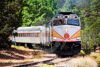 Grand Canyon Railway Editorial Stock Photo