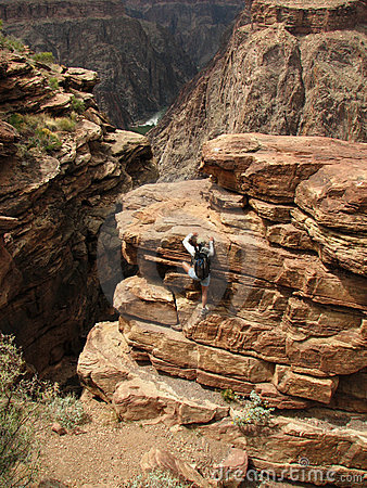Grand Canyon scramble
