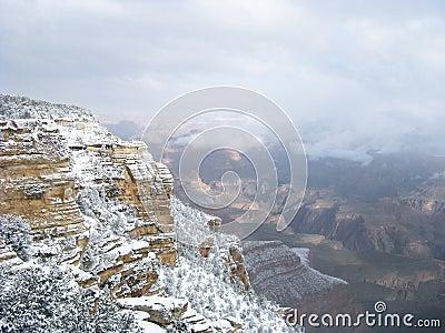 Grand Canyon Snow