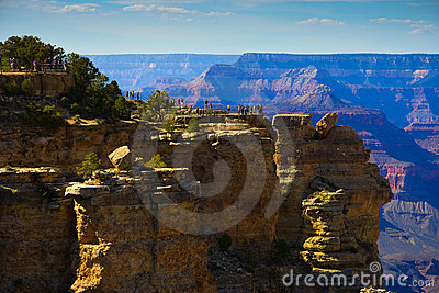 Grand Canyon South Rim Tourist area