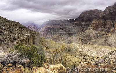 Grand Canyon from the Tanner Trail