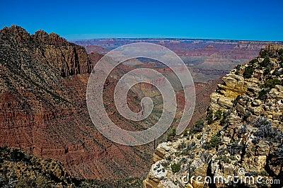 Grand Canyon view from east rim, Arizona, USA