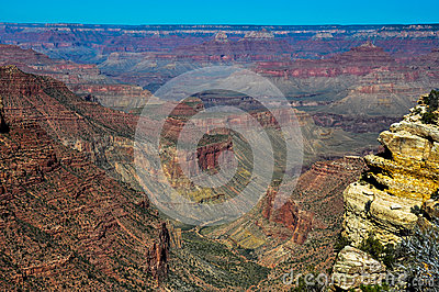 Grand Canyon view from east rim, Arizona, USA