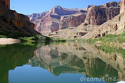 Grand Canyon water reflection