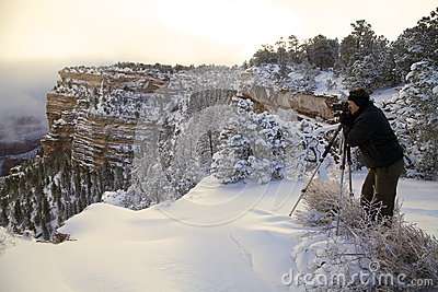 Grand Canyon Winter Photographer