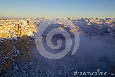 Grand Canyon Winter Scenic