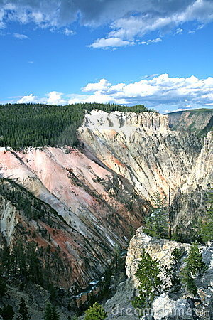 Grand canyon of yellow stone national park