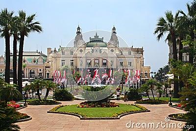 The Grand Casino in Monaco Editorial Image