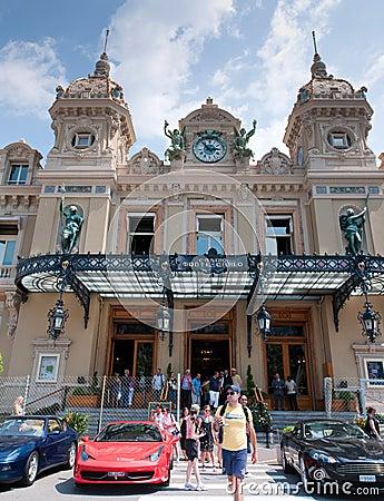 Grand Casino in Monte Carlo Editorial Photo
