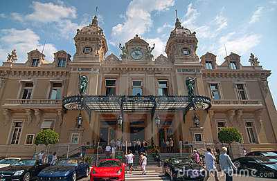 Grand Casino in Monte Carlo Editorial Stock Photo