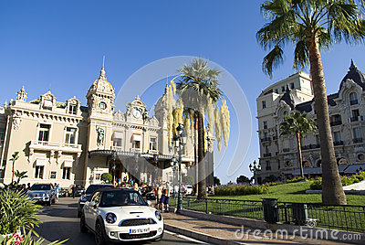 Grand Casino in Monte Carlo Editorial Photography