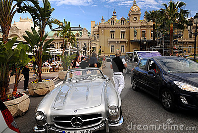 The Grand Casino Monte Carlo - The entrance Editorial Photo