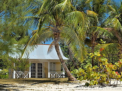 Grand Cayman Cayman Islands Beach House Royalty Free Stock Photos - Image: 23751188