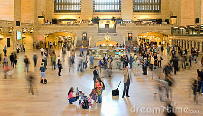 Grand Central Commuters Editorial Photography