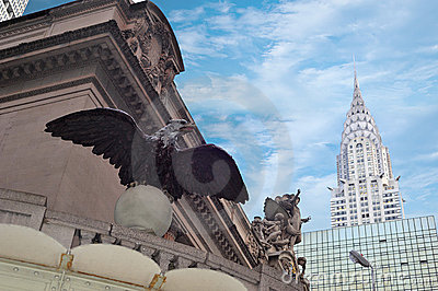 Grand central in new york city