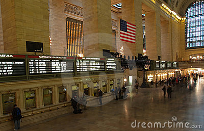 The Grand Central Station Editorial Photo