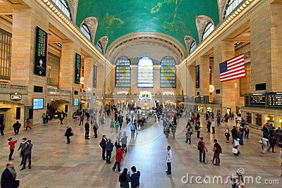 Grand Central Station main Hall, New York City Editorial Photography