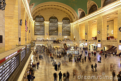 Grand Central Station in Manhattan-New York Editorial Photography