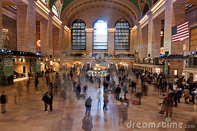 Grand Central Station in New York City Editorial Photo