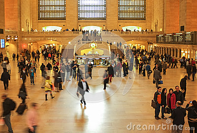 Grand Central Station, New York City Editorial Image