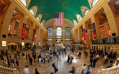 The grand central station in NYC Editorial Photo