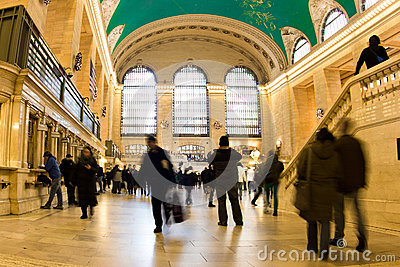 Grand Central Station Rush Editorial Image