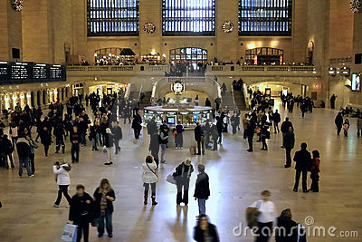 Grand Central Terminal New York USA Editorial Stock Photo